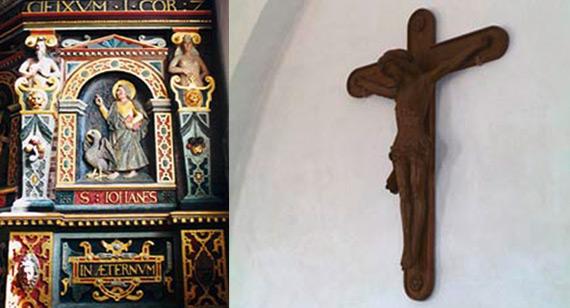 Korbuekrucifiks i Lyndby kirke