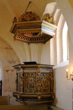 Prædikestolen i Gershøj kirke