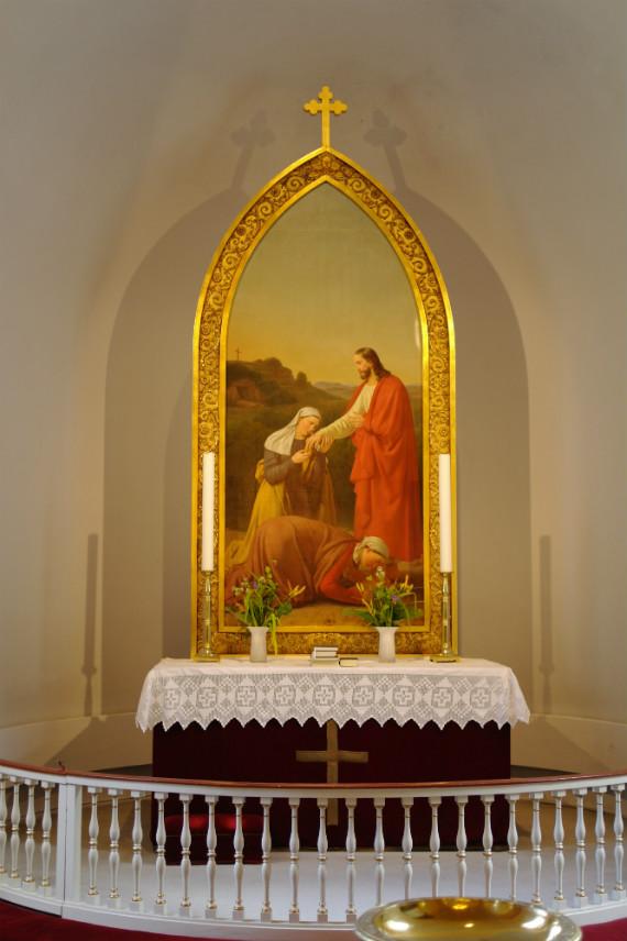 Altertavlen i Sæby kirke