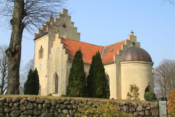 Sæby Kirke, Sæby-Gershøj Sogn, Lejre Provsti